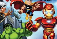 игры отряд супергероев
