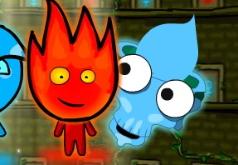 игры огнь и вода в замке ужасов