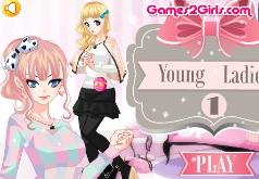 игры модная молодая леди