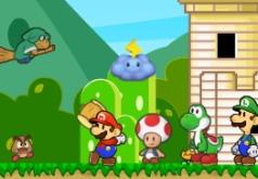 игры марио и друзья защищают башню