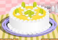 игры лимонный торт рецепт