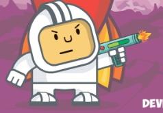 игры космонавт против монстров