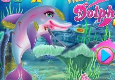 игра корабль спасает дельфина