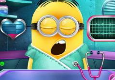 Игры Операция на голове миньона
