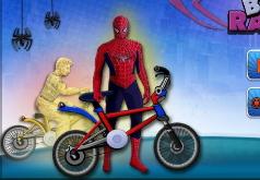 Игра Человек паук Гонка БМХ