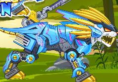 Игра Зоо робот Лев