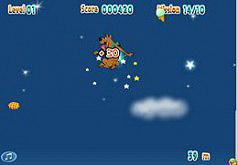 игры скуби прыгает с парашютом