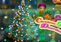 Игры Декорируем рождественскую ель
