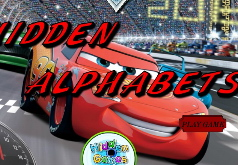 Игры Автомобили скрытые буквы