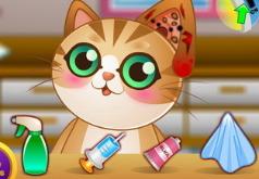 Игры Доктор для котёнка