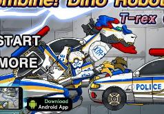игры роботы динозавры полицейские