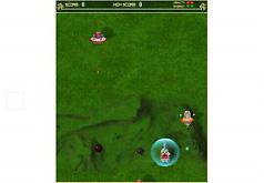 Игры Панда против инопланетян