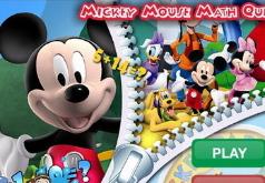 Игры Микки Маус Математическая викторина