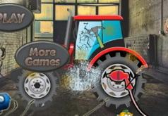 игры тракторы мойка