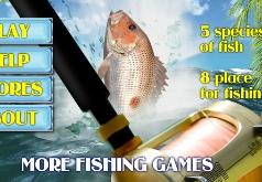 игры ловить рыбу в море