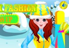Игра Лыжная мода