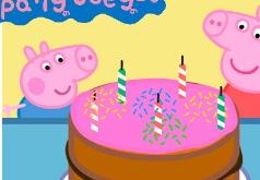 Игры День Рождение Свинки Пеппы Пазл
