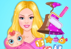 Игры Гостиная Барби