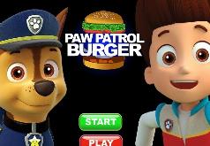 игры щенячий патруль готовит