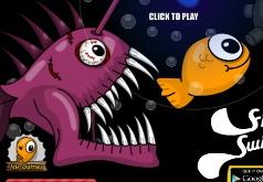 игра рыба удильщик