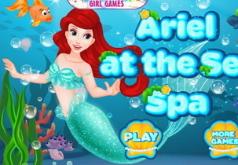 Игра Ариэль В морском спа салоне