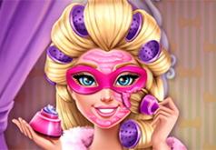 игры барби маски