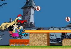 Игра Смурфы Веселые гонки 2