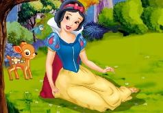 Игра Принцесса Белоснежка Ленивая