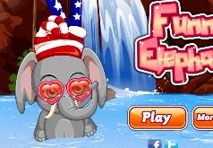 игра помой слоника