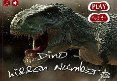 Игра Дино скрытые номера