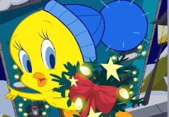 игры новогоднее украшение окон