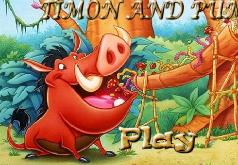 Игра Тимон и Пумба - спрятанные буквы