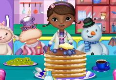 Игра «Доктор Плюшева готовит блины»