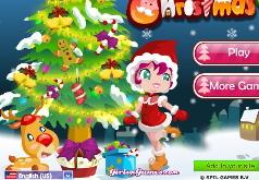 игры новогодняя елка в лесу