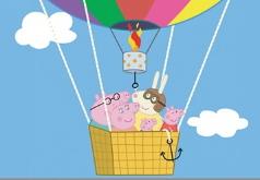 Игры Свинка Пеппа на Воздушном Шаре