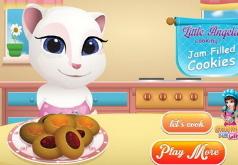 Игры Анжела готовит печенье с джемом