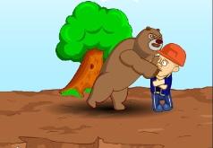Игра Медведи соседи ПК на скале