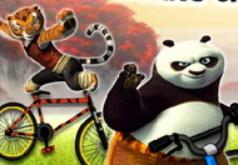 игры кунг фу панда на велосипеде
