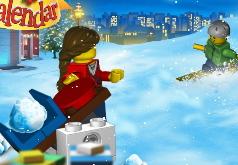 Игра Лего Зима