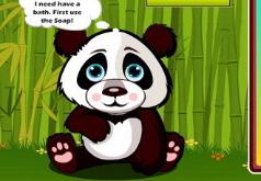 игра малыш панда кики