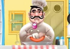 игра готовить еду челлендж