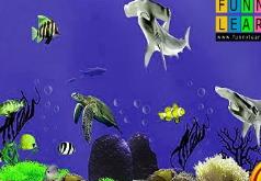 Игры Морская загадка с акулами