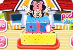 Игры Готовим торт для Минни Маус