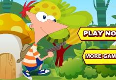 Игра Финес и Ферб в тропическом лесу