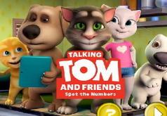 Игра Говорящий Том и друзья Скрытые номера