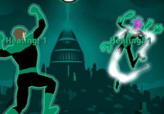 игры зеленый фонарь драки