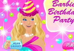 Игры день рождения барби