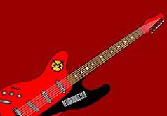 Игры Красная и черная гитара