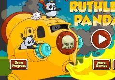 игры на двоих две китайские панды в пустыне