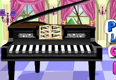 Игра Уроки пианино для Лизи